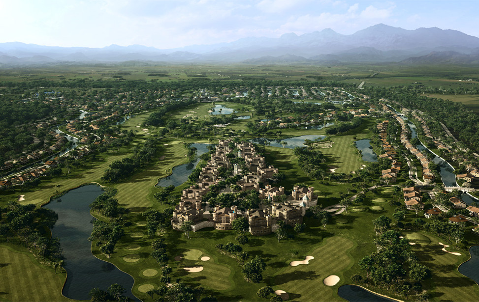 Belek Golf Club Turkey Rendering of the masterplanned Golf Resort Community